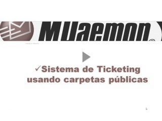Carpetas públicas, Ticketing y Documentos